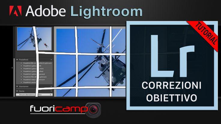Tutorial Lightroom - CC #5 CORREZIONI OBIETTIVO  Eccoci a un altro Tutorial su Photoshop Lightroom. Continuiamo oggi ad analizzare gli strumenti che ci mette a disposizione il software parlando delle Correzioni Obbiettivo. Le lenti delle macchine fotografiche spesso producono dei difetti. Le lenti moderne hanno di fatto ridotto questo genere di problemi, ma, con particolari obiettivi, alcuni difetti permangono.