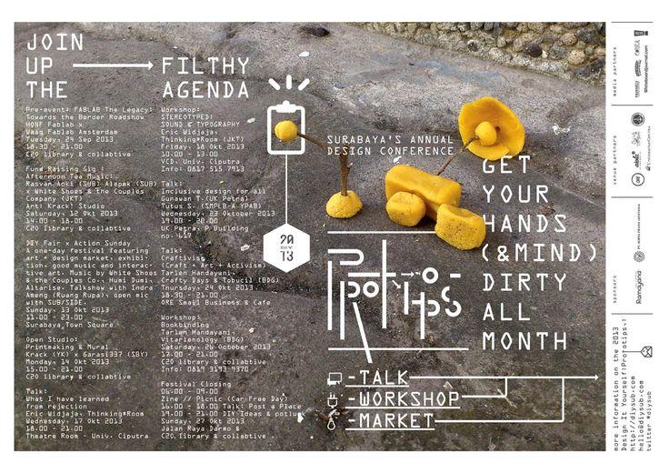 D.I.Y. PROTOTIPS POSTER in Gestalten creative pool