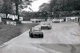 'Run Baby Run' Ford sport day 1972. Leading works Ford v6 Cologn Capri