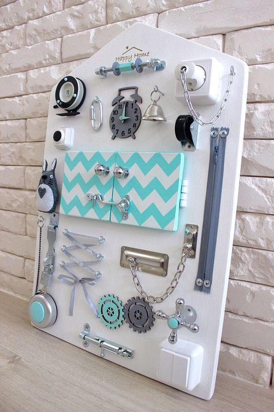 Beschäftigt Board einzigartige Baby-Geschenk erste Geburtstagsgeschenke für junge Baby Mädchen Kinderzimmer Dekor Ostern Geschenke