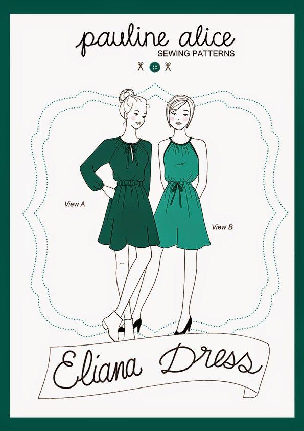 New Pattern: Eliana Dress | pauline alice - Sewing patterns, tutorials, handmade clothing & inspiration