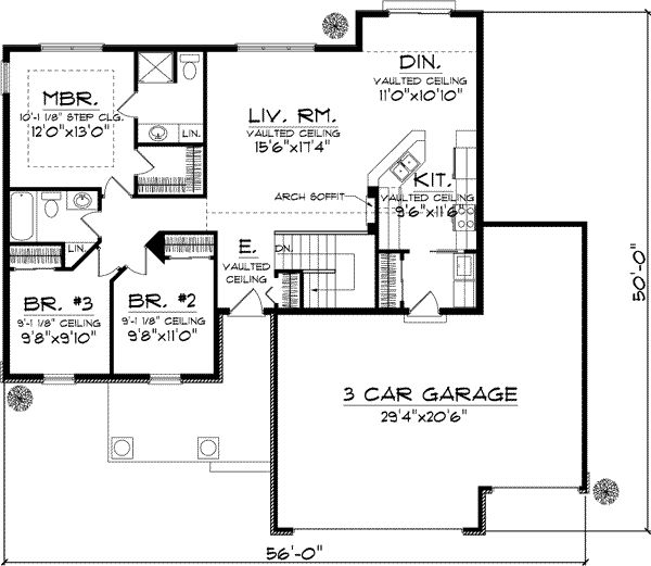 Craftsman House Plans Ranch Style: Best 25+ Cottage Style House Plans Ideas On Pinterest