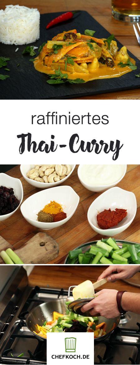 Raffiniertes Curry mit Mango, Kürbis und Cashews