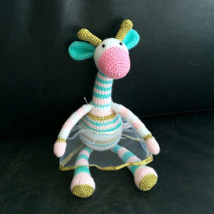 Jirafa #giraffe amigurumi