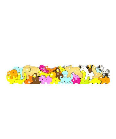 Animal Parade A to Z Puzzle by BeginAgain