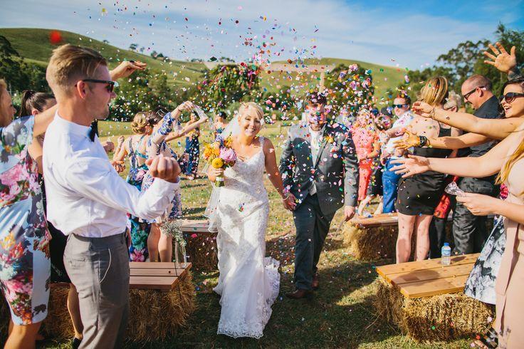 Confetti Throw | Farm Wedding | Backyard Wedding