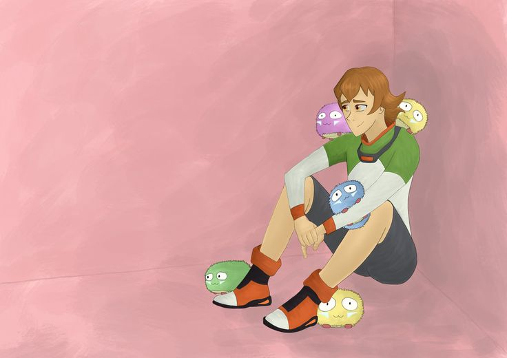 Pidge by warrior-princess46 on DeviantArt >> noticed a severe lack of pidge fanart with the trash nebula aliens and decided to make one they are so adorble and i am in love with them