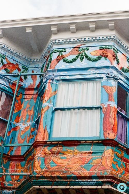 Art on Homes • San Francisco Victorian House