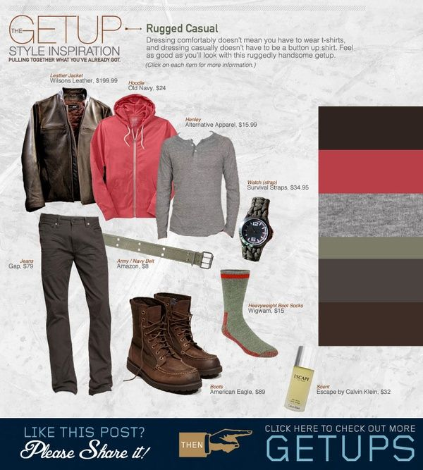 The Getup: Rugged Casual | Primer
