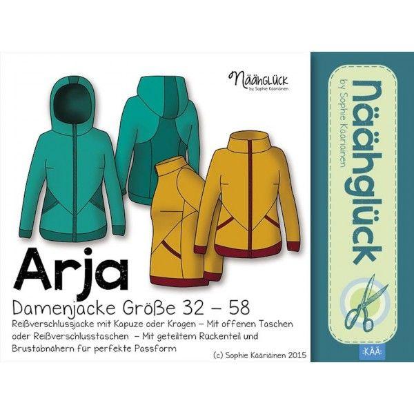 E-Book -  Damenjacke Arja Gr. 32 - 58