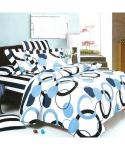 This bed spread is so cute! I am going off to college soon and need to get a new bed set! The colors on this one look great! The designs on it are also really cool! I will have to show this to my mom and see if she approves of it. Emily Smith