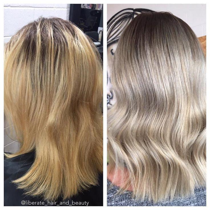 Say NOOO to yellow  . . . . . #Hair #blonde #foils #ashblonde #liberatehairandbeauty #hairandbeauty #ringwoodeast #melbourne #melbournesalon #hairgame #hairinspo #hairgoals #goals #instahair #hairdresser #melbournehairblogger #wellacolour #blondespecialist #colourspecialist #hairenvy #hairofaustralia #style #behindthechair #hairstyles #bride #weddinghair  @melbournehairblogger @bestofbalayage @balayageartists @mastersofbalayage @bestblondesinmelbourne @blondehairstyless @haircoaustralia…