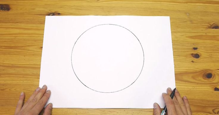 This Simple Trick Shows How To Easily Draw A Perfect Circle