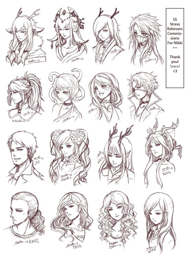 Miraculous 1000 Images About Anime Hairstyles On Pinterest Short Hairstyles For Black Women Fulllsitofus