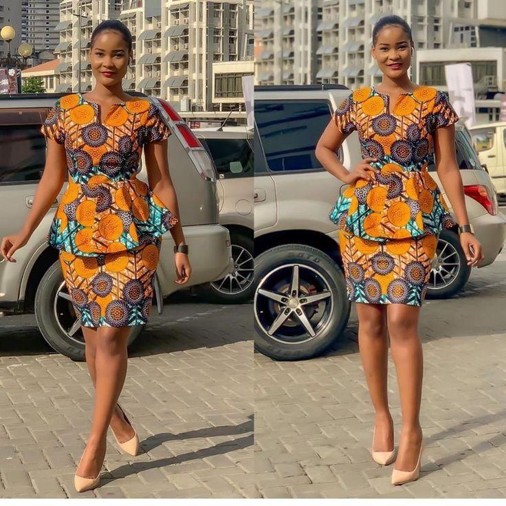 25 Ankara Skirt And Blouse Styles You'll Love