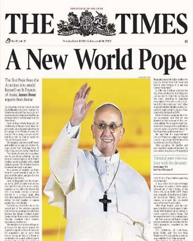 Image result for new world pope