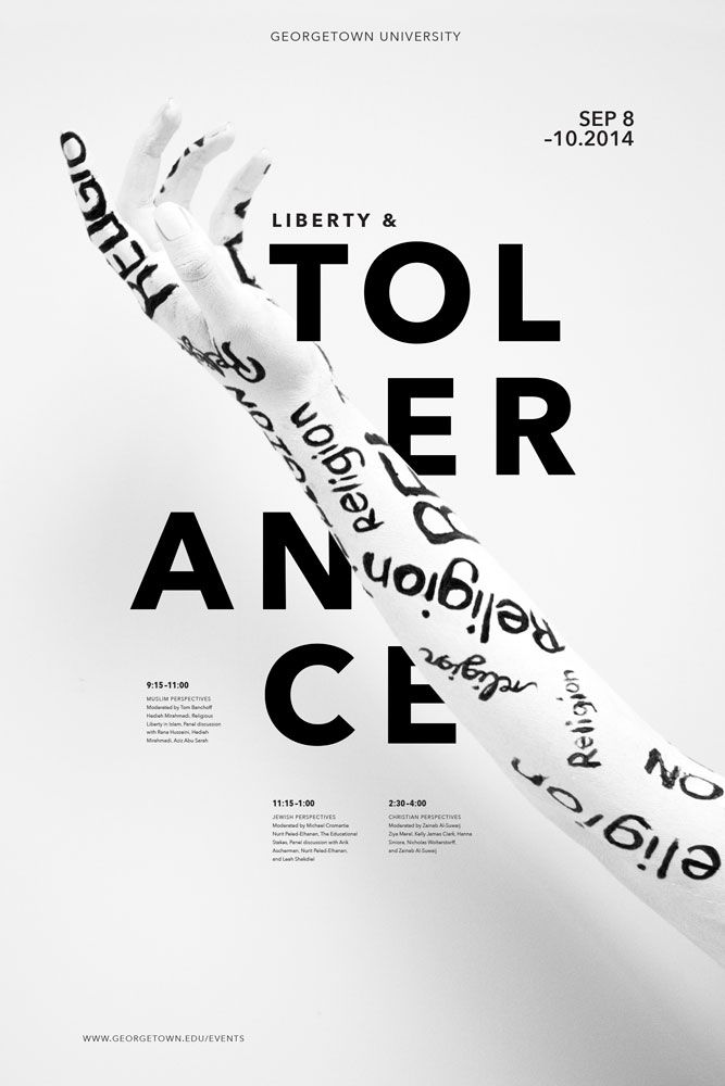 Poster Series by M. Agatelli #typography