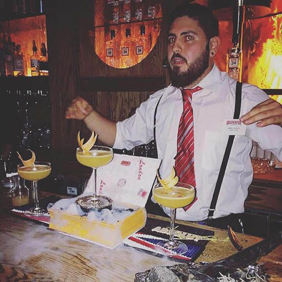 Who Samuel Trudeau Where Longueuil, Quebec, Canada Current Bar L'Gros Luxe Vieux-Longueuil Past Bar(s) Mile public house Favourite Spirit  Bourbon Favourite Juice   Pineapple Favourite Classic Cocktail  Gin ton Favourite Part of the Job  Slinging drinks Favourite After Work Drink Shot of bourbon Favourite at Home Drink Negroni Favourite bar in the world Nightjar (London) Best known for  Outside the box thinking …