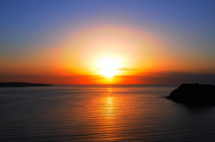 Vanuatu sunrise