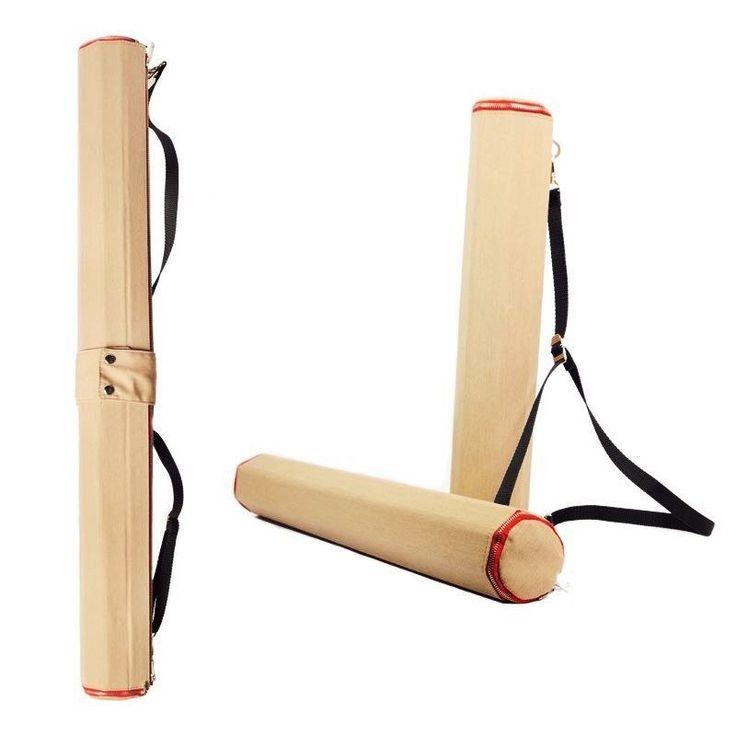Tubo portadisegni estendibile convertibile in cartella in tessuto impermeabile