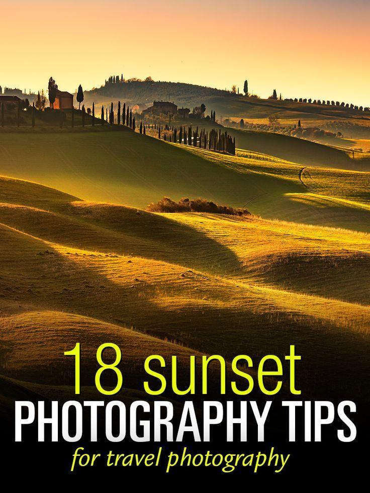 18 praktische Tipps zum Fotografieren bei Sonnenuntergang, um …   – travel photography