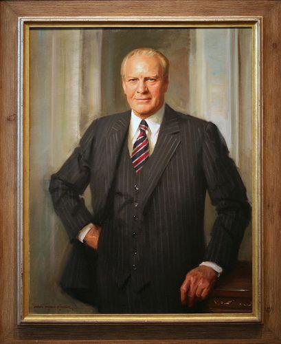 Gerald Rudolph Ford, Jr., Thirty-eighth President (1974