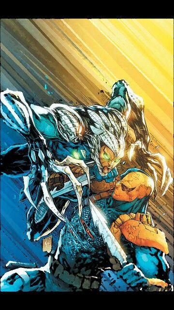 Warblade vs Deathstroke....llll