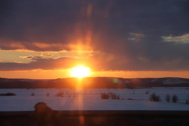 Sunset Flare, Winter