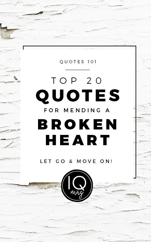 Inspirational Quotes about Breaking Up and Moving On - Visit us at InspirationalQuotesMagazine.com for the best inspirational quotes!