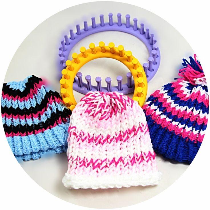 Knitting Loom - Mütze für Kinder