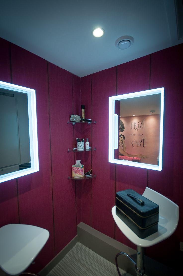 Vibrant pink wallpaper from Abbott & Boyd