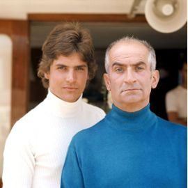 Photo De Louis De Funes Et Son Fils 1970