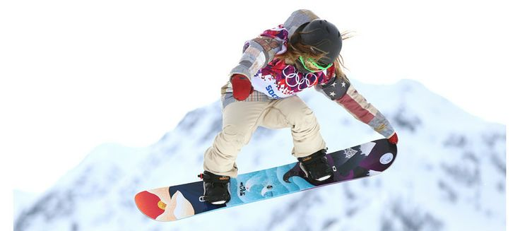 Jamie Anderson wins the first gold medal in the women's slopestyle Olympic debut
