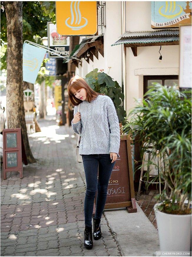 Salad Bowl Knit | Korean Fashion
