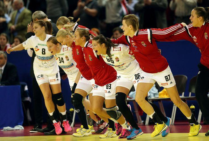 2014 Women's Handball European Championships in Hungary Hungary beat Norway!!!!