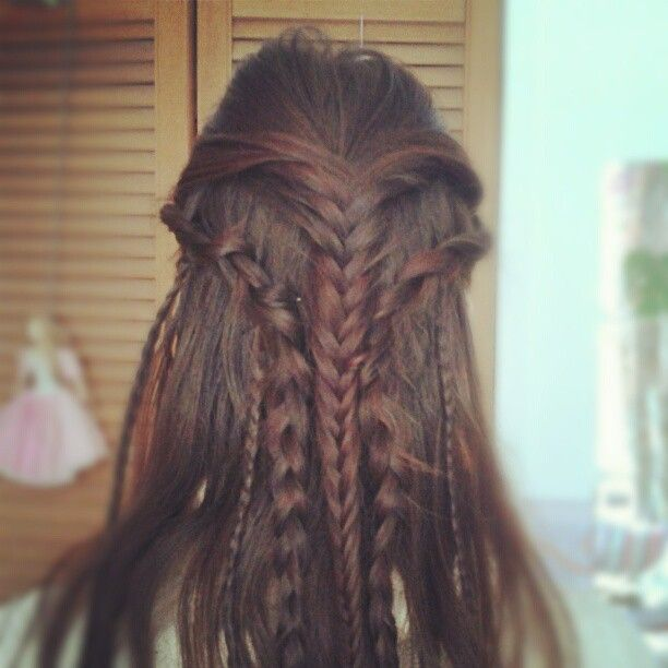 Celtic Warrior Princess Hairstyle  (Inner nerd)