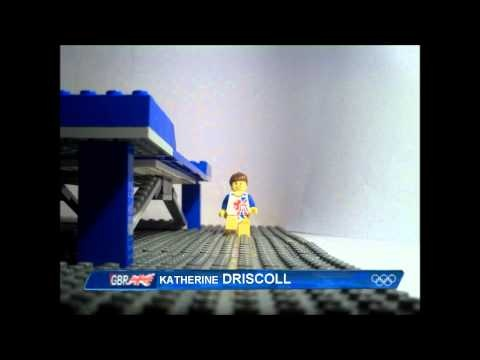 Lego Kat Driscoll at the Olympics