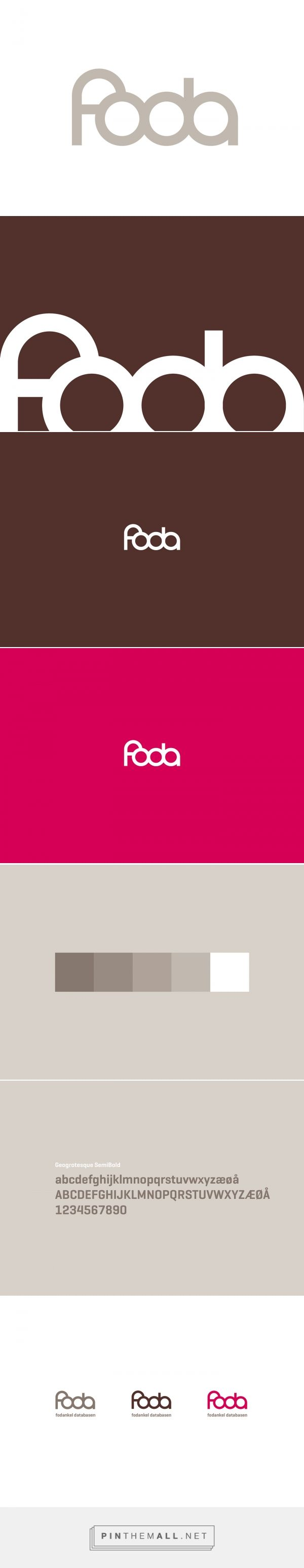 Micro identity for FODA - the foot ankle database on Behance - created via http://pinthemall.net
