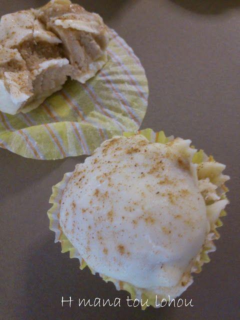 H μάνα του ... λόχου: Τρουφάκια μήλου με λευκή σοκολάτα