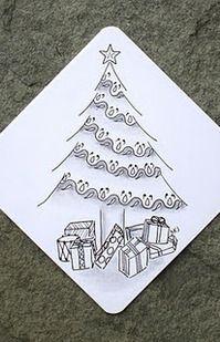 lovely tile by Sue Jacobs, Certified Zentangle Teacher (CZT)