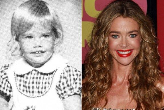 Denise Lee Richards was born in Downers Grove, Illinois, on February 17, 1971, and moved with her family to Oceanside, California, when she was 15 years old. Her parents, Joni, a small business owner, and Irv, a telephone engineer, are entrepreneurs that own the Jitters chain of coffee shops in Oceanside, California. Denise Richards and her sister Michelle were always active in sports; Denise played on a boy's baseball team as a child.