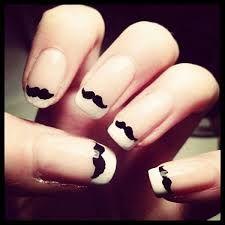 Best 25 mustache nail art ideas on pinterest mustache nails moustache nails i just love these prinsesfo Choice Image