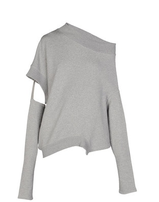 Y-3, AW11 VISCOSE CUT TOP: detachable sleeves. also comes in black...