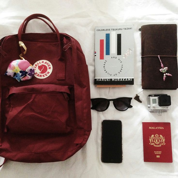 ox red kanken and what's in my bag