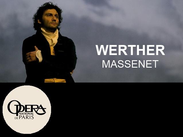 Jonas Kaufmann as Werther