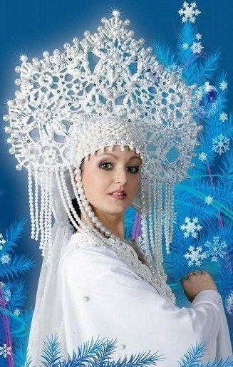 Russian costume. Kokoshnik. Stylization. Please like http://www.facebook.com/RagDollMagazine and follow @RagDollMagBlog @priscillacita