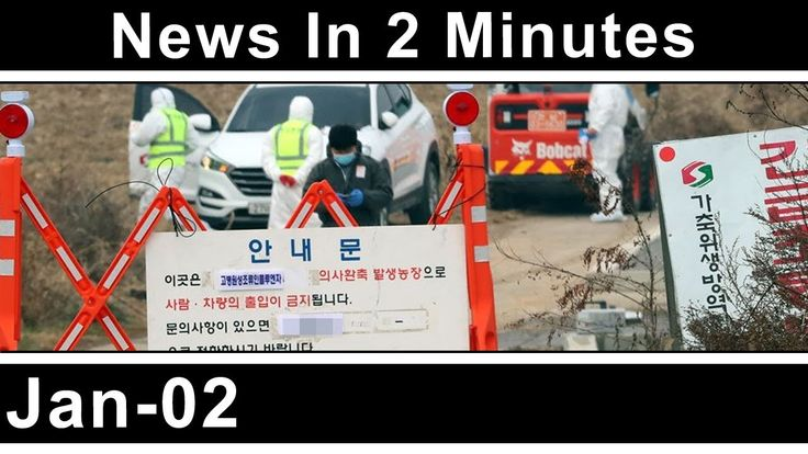 News In Two Minutes - Bird flu outbreak - Russian chicken cull - Quarant...