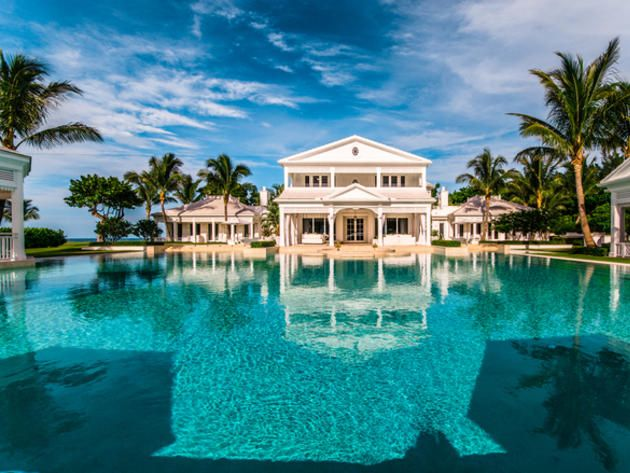 Big Mansions With Pools pool: celine dion's jupiter mansion | florida | pinterest | celine