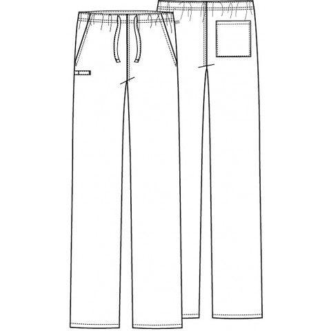 gray anatomy scrub patterns for sewing | Cherokee Unisex WW Flex Antimicrobial Pant - 34100A | Murse World