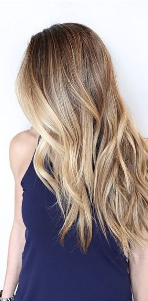 Don't just ask for blonde highlights - get dimension to your shade with two tones blended for a more natural look. Color by Johnny Ramirez. PS - if you're a hairstylist and you're not following Joh...